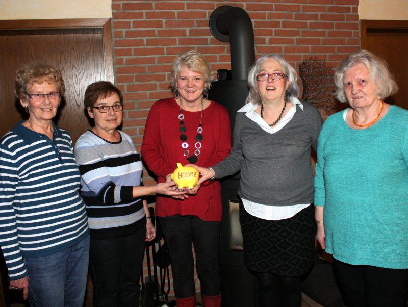 Katholische Frauengemeinschaft Isenburg unterstützt Hospizverein