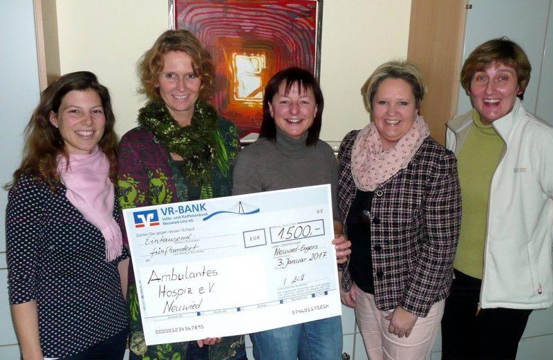 Pfarreiengemeinschaft Heimbach-Engers unterstützt Hospizarbeit