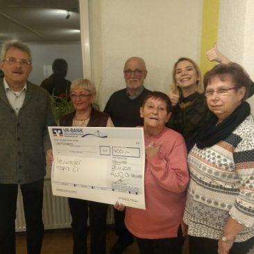 AWO- Ortsverein Neuwied unterstützt Hospizarbeit