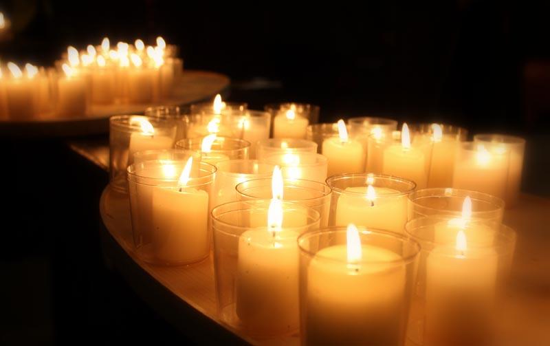Angehörige und Hospizbegleiter gedachten der Verstorbenen