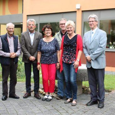 Hans-Peter Knossalla in seinem Amt als Vorsitzender bestätigt